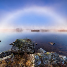 Fogbow On The Lake