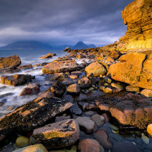 Golden Light On Elgol