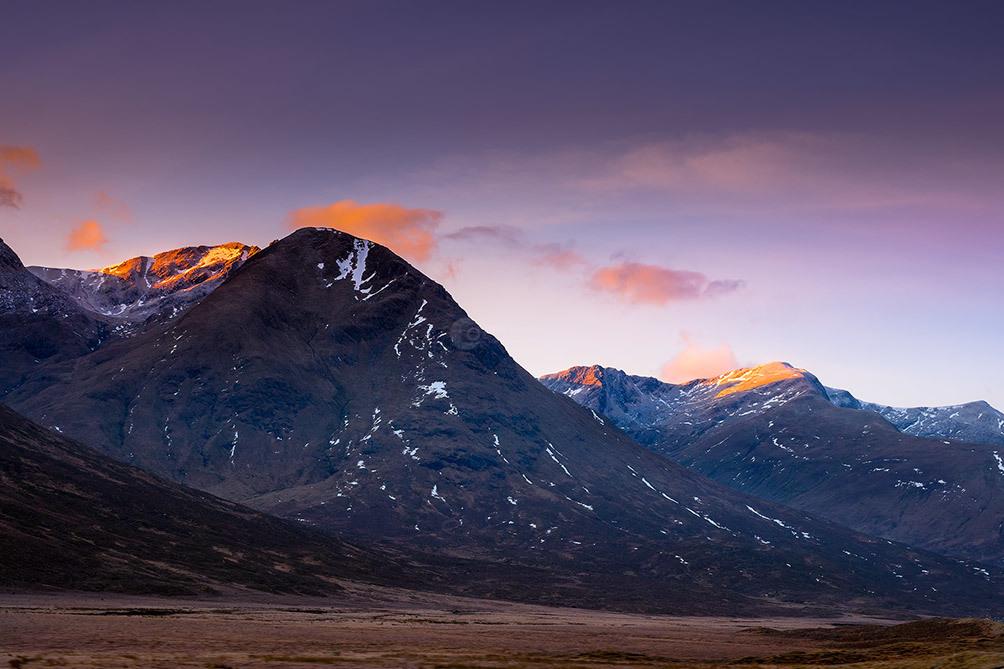 Glencoe Mountain Dawn