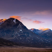 Glencoe Mountain Dawn