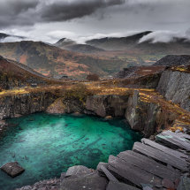 Dali's Hole Dinorwic Quarry