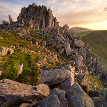 The Castle Glyder Fach