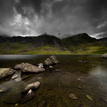 Snowdonia Idwal Storm