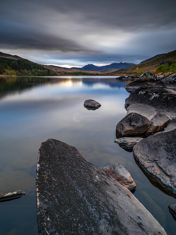 Snowdonia Llynau Mymbyr Twilight II