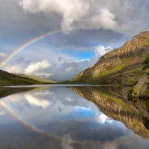 Snowdonia Ogwen Rainbow