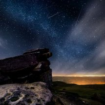 Milky Way Over Stanage