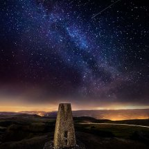 Trig Point Milky Way