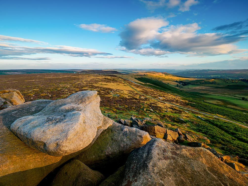 Stanage Golden Light