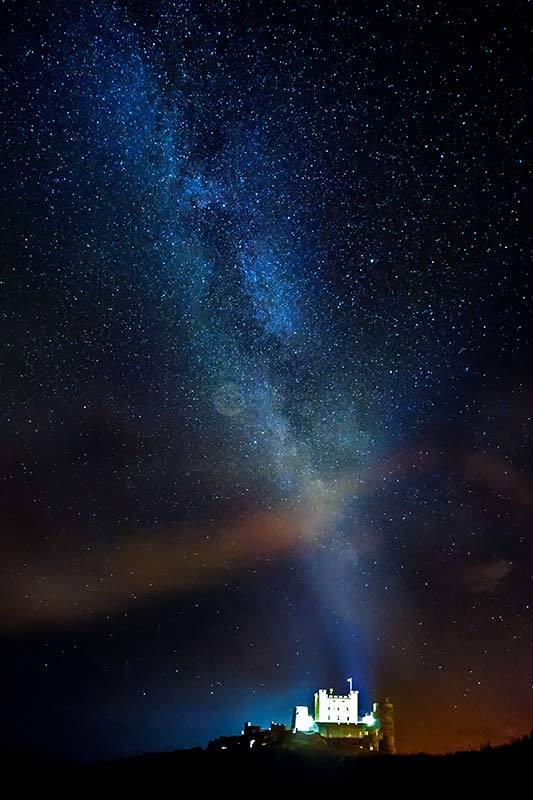 Bamburgh Milky Way