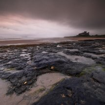 Bamburgh Misty Morning 111