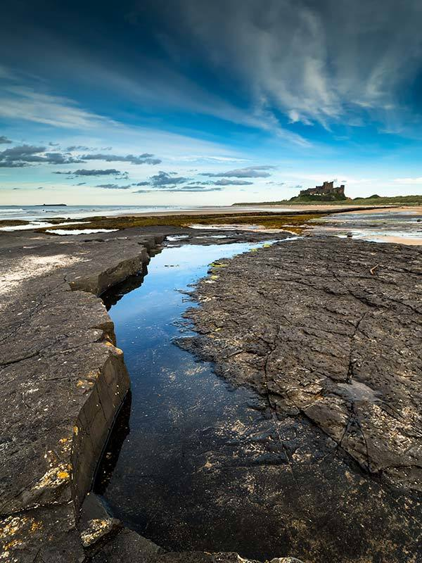 Bamburgh Blue Water