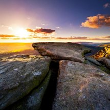 Bamford Edge Sunset 11