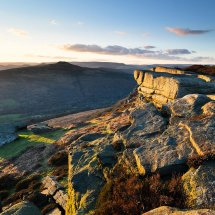Spring Sunset Bamford Edge