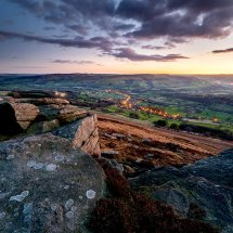 Bamford Edge Twilight