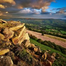 Golden Hour Bamford Edge