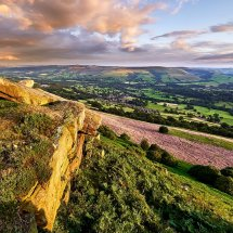 Bamford Edge Golden Hour