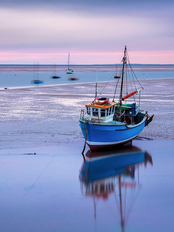 Blue Boat Cleveleys I