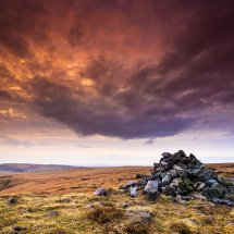 Sky Meets Earth-Castleshaw Moor