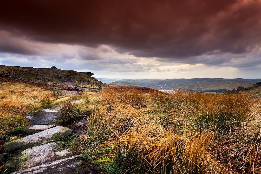 Autumn-Castleshaw Moor