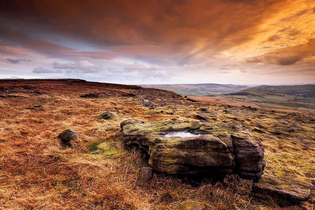 After Rain II-Castleshaw Moor