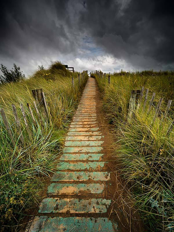 Dune Boardwalk-Talacre