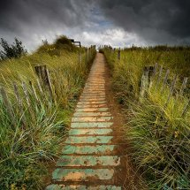 Dune Boardwalk-Talacre
