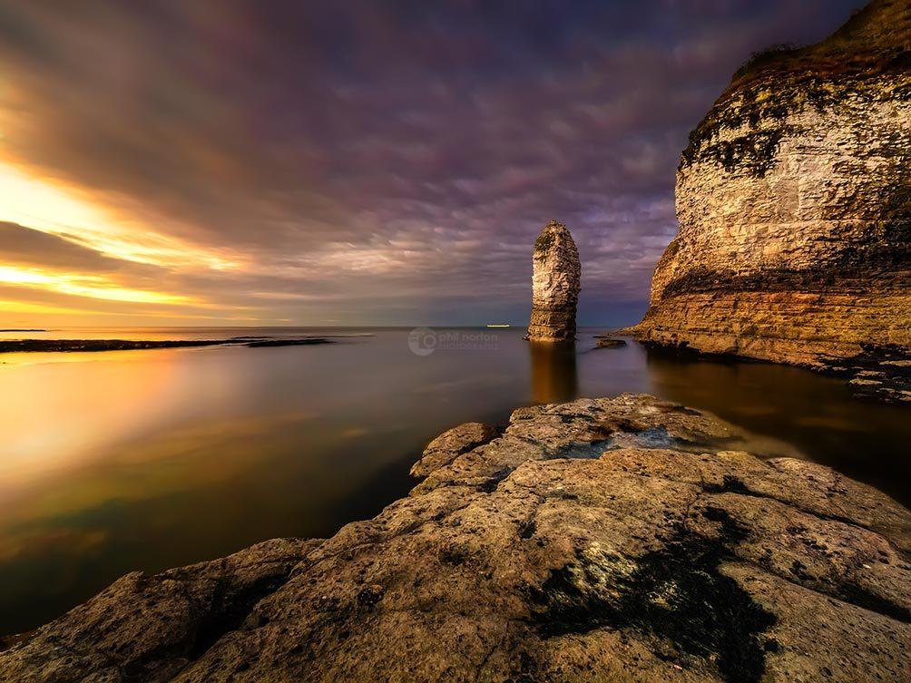 Sea Stack Sunset