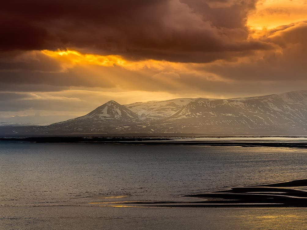 Golden Mountain Light