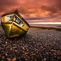 Yellow Boat-Lytham I