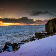 Winter Snow-Marsden Sunset