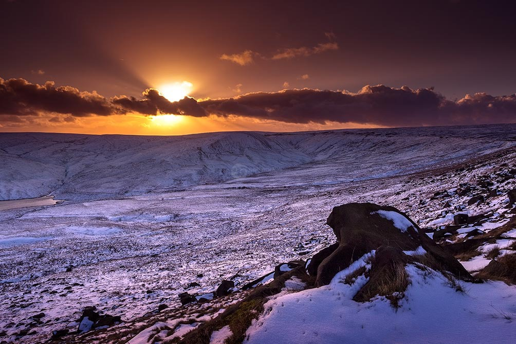 Winter Snow-Marsden Sunset 4