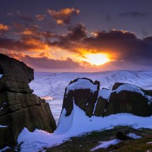 Winter Snow-Marsden Sunset 5