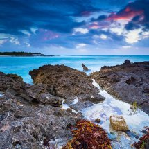 Rock Pool At Dusk IV