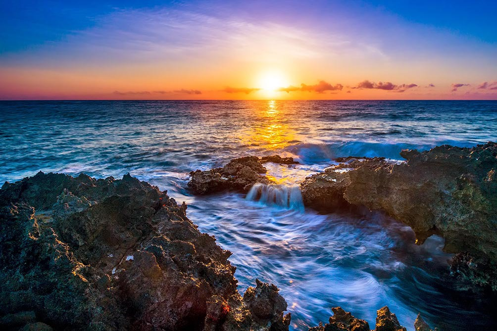 Rising Sun At Dawn