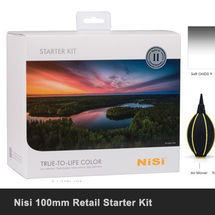 Nisi 100mm Box Starter Kit £510