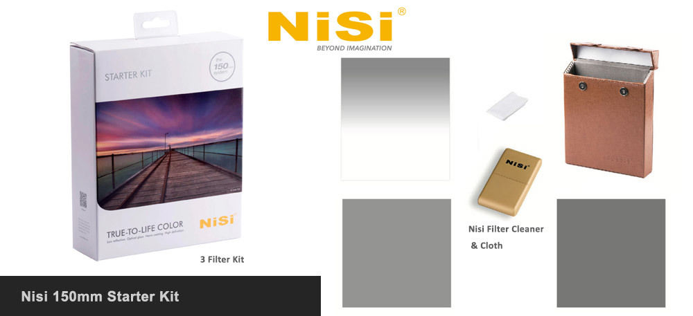 Nisi 150mm Starter Kit £558