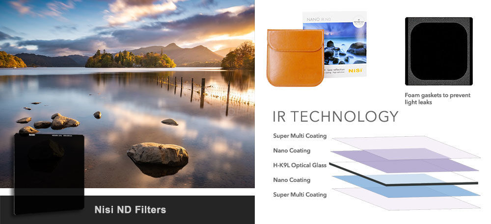 Nisi 100mm IRND Filters £122