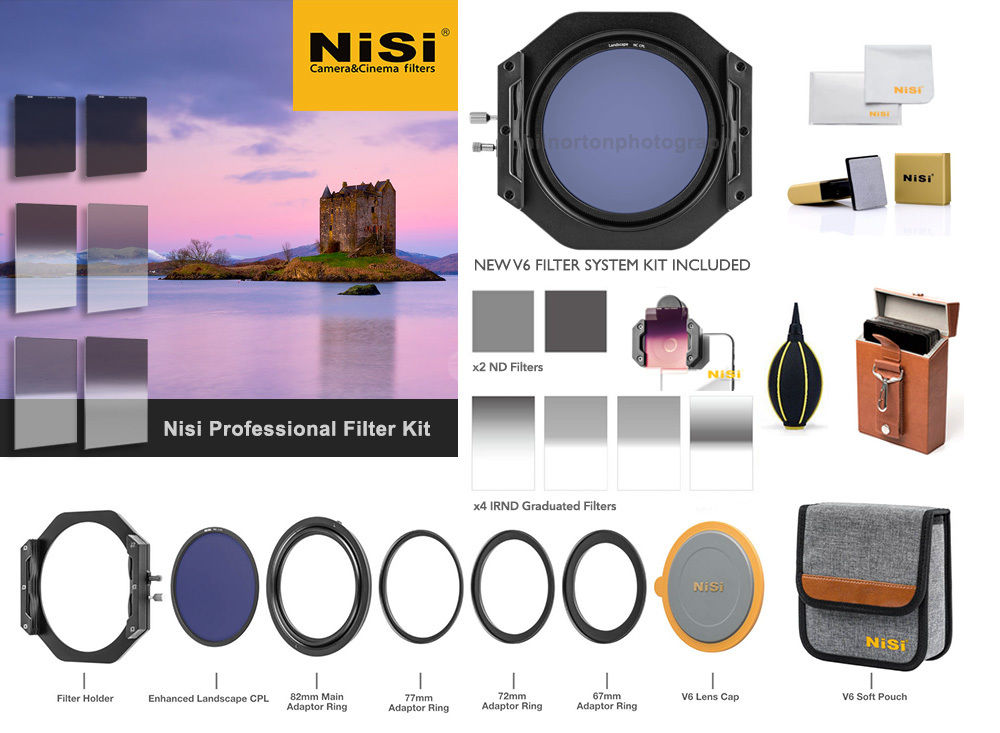 Nisi 100mm Pro Filter Kit £898