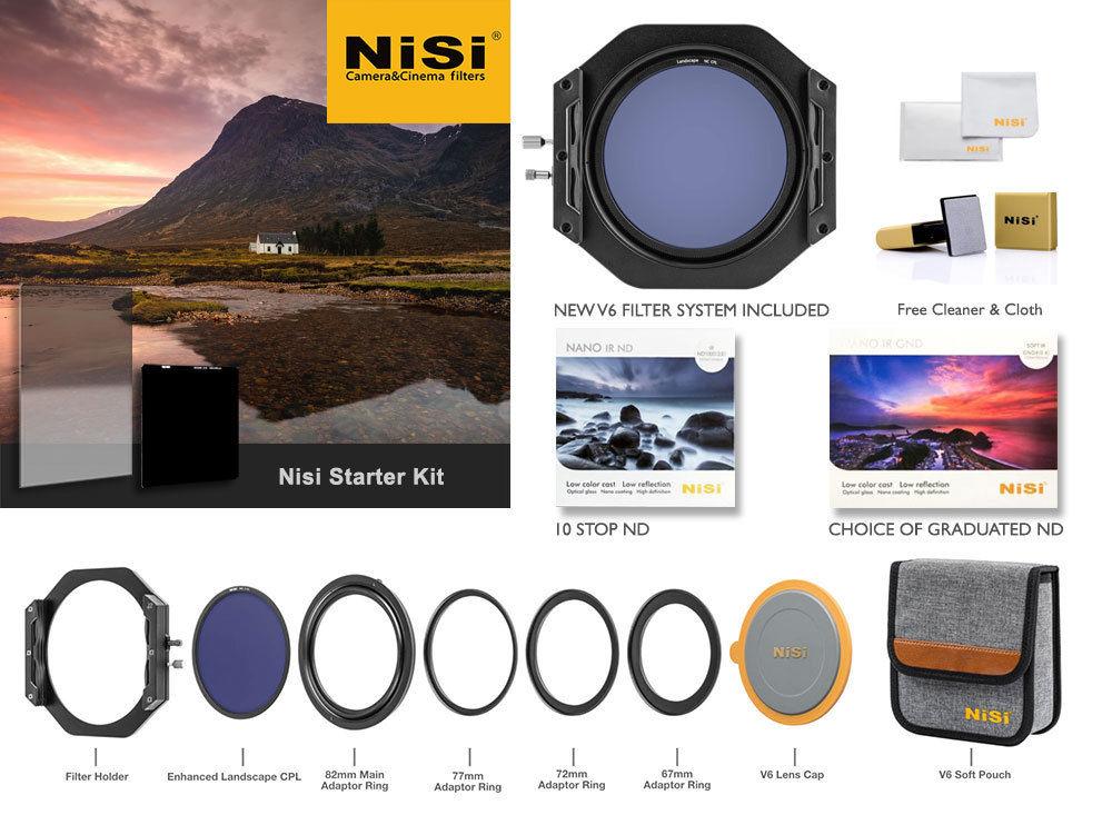 Nisi Starter Filter Kit £366