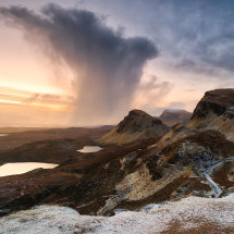 Storm Approaching The Quiraing