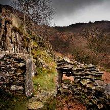 Stone Wall-Snowdonia