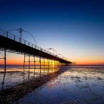 Southport Pier Sunset IV