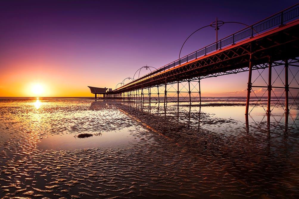 Southport Pier Sunset I