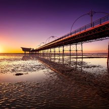 Southport Pier Sunset I
