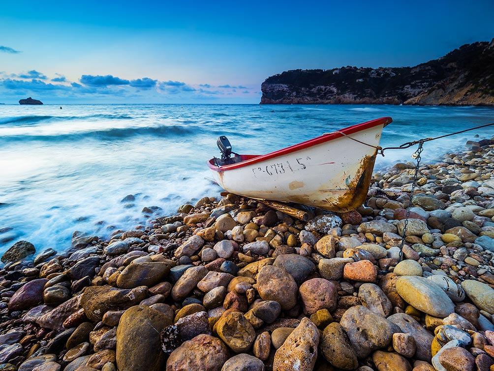 Boat At Dawn-Spain I