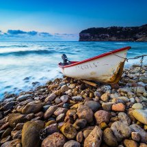 Boat At Dawn-Spain I