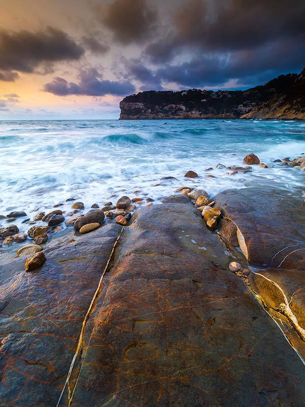 Pebbles At Dawn-Spain