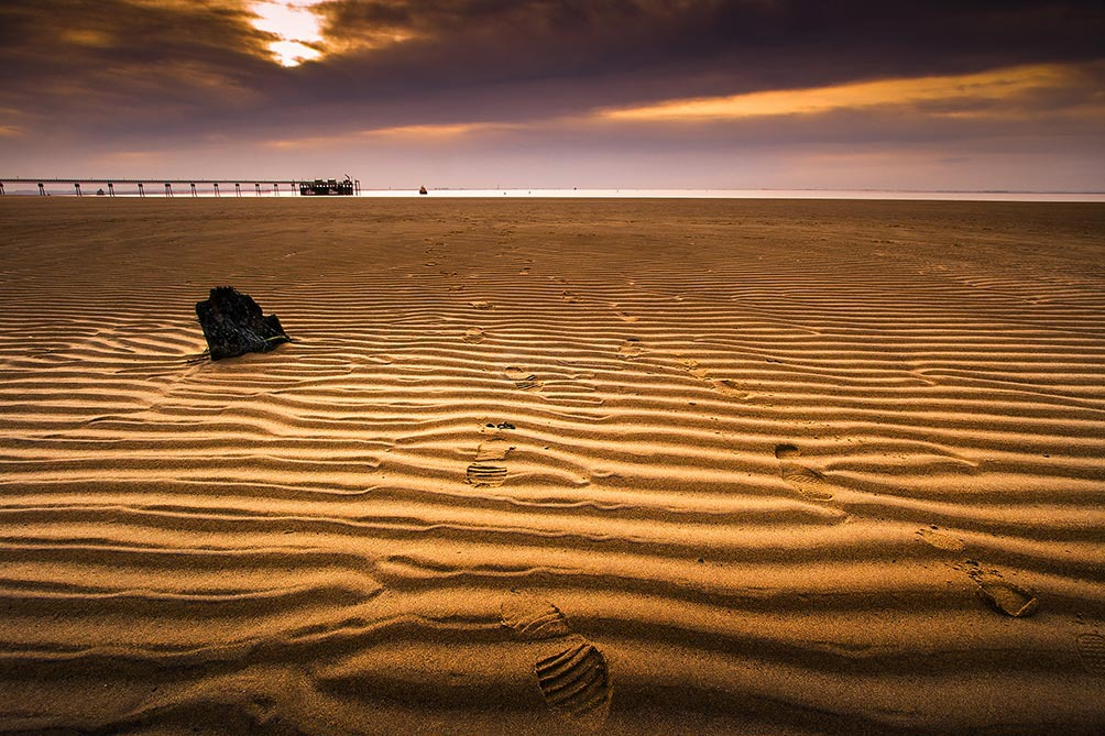 Sand Ripples Spurn Point