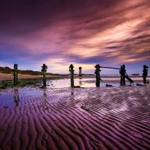 Dusk At Spurn Point
