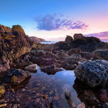 St Abbs Bay At Dawn